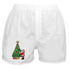 Santa and our star Boxer Shorts