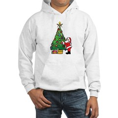 Santa and our star Hoodie