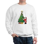 Santa and our star Sweatshirt
