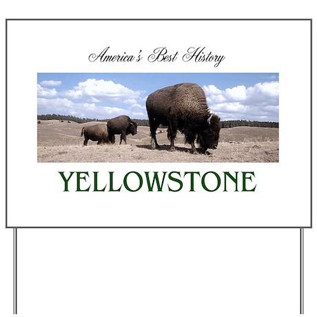Yellowstone Americasbesthistory.com Yard Sign