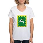 Outlands Populace Ensign Women's V-Neck T-Shirt