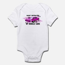 Easy pink Infant Bodysuit