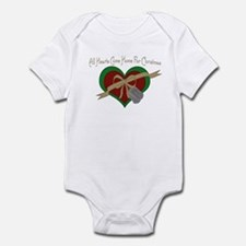 USAF Heart Infant Bodysuit