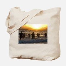 TRIATHLON SUNRISE Tote Bag