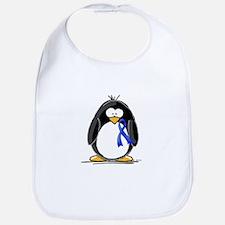 Blue Ribbon Penguin Bib
