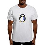 Blue Ribbon Penguin Light T-Shirt