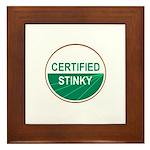 CERTIFIED STINKY Framed Tile