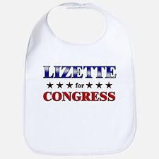 LIZETTE for congress Bib