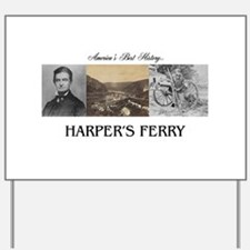 Harper's Ferry Americasbesthistory.com Yard Sign