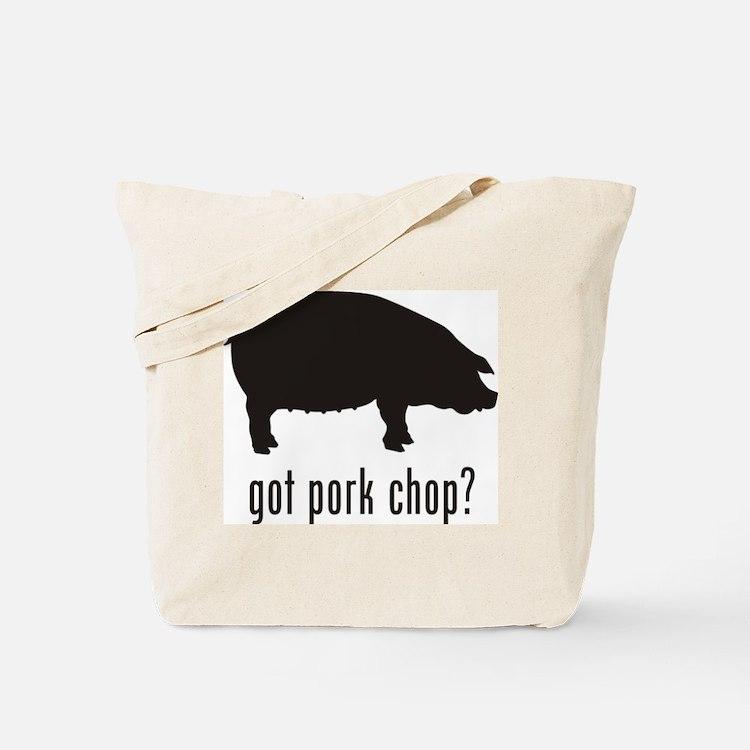 Pork Chop Tote Bag