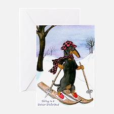 Dachshund Wienerland Christmas Card