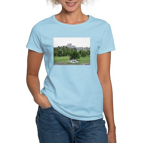 Mayan Ruins of Tulum (C) Women's Light T-Shirt