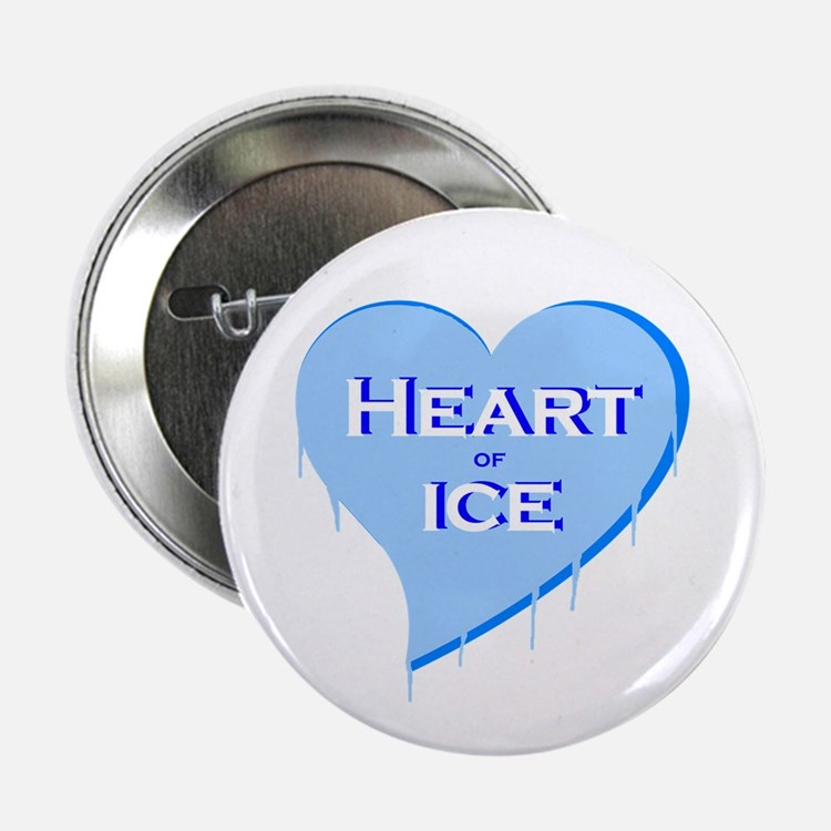 """Heart of Ice 2.25"""" Button"""