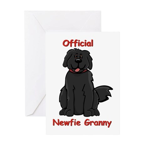 Newfie Granny Greeting Card