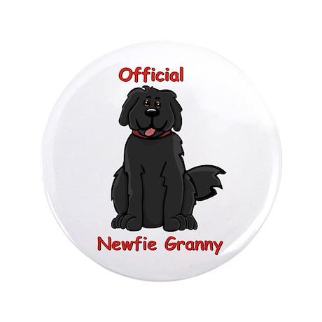 "Newfie Granny 3.5"" Button"
