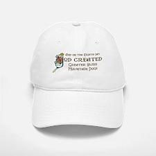 God Created Swissies Baseball Baseball Cap