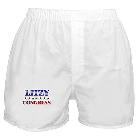 LITZY for congress Boxer Shorts
