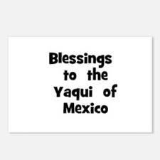 Blessings  to  the  Yaqui  of Postcards (Package o