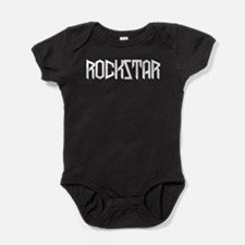 Funny Hair bands Baby Bodysuit