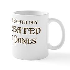 God Created Danes Mug