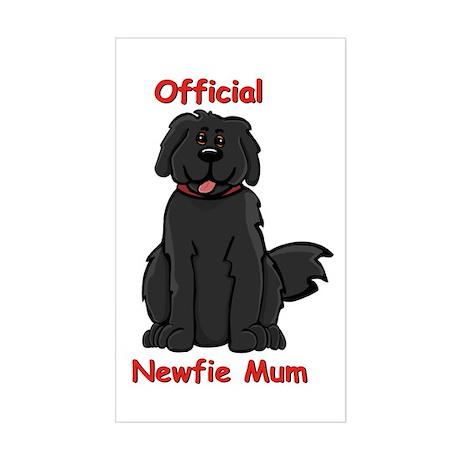 Newfie Mum Rectangle Sticker