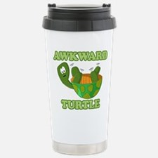 Awkward Turtle Thermos Mug
