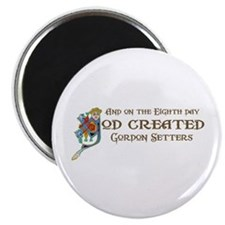 "God Created Setters 2.25"" Magnet (100 pack)"