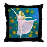 Ballet pillow Throw Pillows