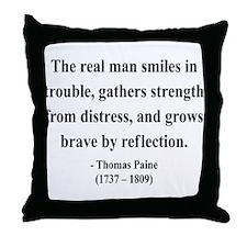 Thomas Paine 17 Throw Pillow