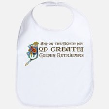 God Created Retrievers Bib