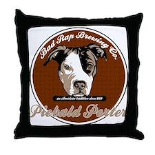 Piebald Throw Pillow