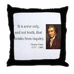 Thomas Paine 18 Throw Pillow