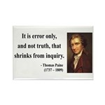 Thomas Paine 18 Rectangle Magnet (10 pack)