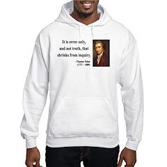 Thomas Paine 18 Hooded Sweatshirt