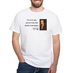 Thomas Paine 18 White T-Shirt
