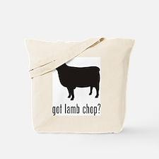Lamb Chop Tote Bag