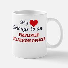 My Heart Belongs to an Employee Relations Off Mugs