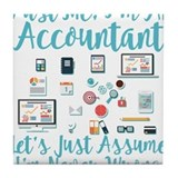 Accountant Drink Coasters