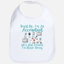Trust Me I'm An Accountant Bib
