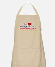 My Heart Belongs to an Endocrinologist Apron