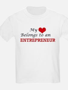 My Heart Belongs to an Entrepreneur T-Shirt