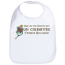 God Created Bulldogs Bib