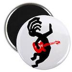 Kokopelli Guitar Magnet