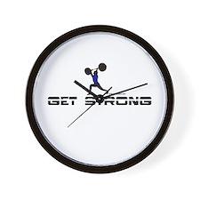 GET STRONG Wall Clock