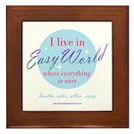Easy World Framed Tile
