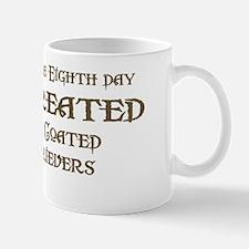 God Created Flatcoats Mug