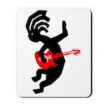 Kokopelli Guitar Mousepad