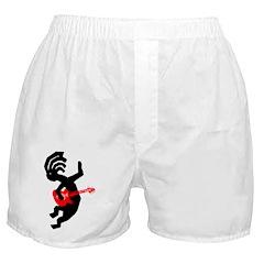 Kokopelli Guitar Boxer Shorts