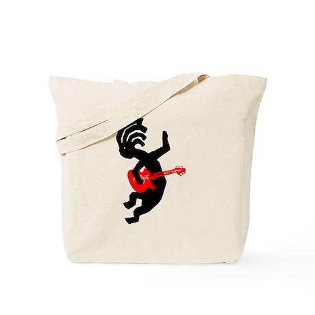 Kokopelli Guitar Tote Bag