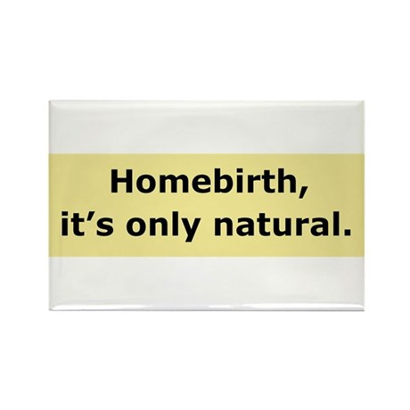 It's only natural Rectangle Magnet (10 pack)